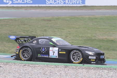 Lars Pergande mit BMW Z4 GT3 am Red Bull Ring