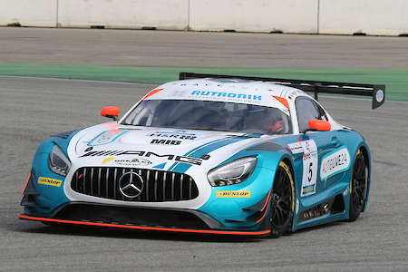Wolfgang Triller und Kenneth Heyer im Race-Art-Mercedes