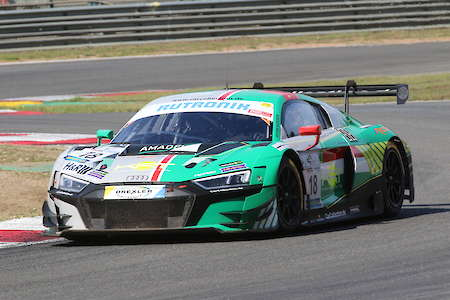 Dirg Parhofer erneut mit Audi R8 LMS GT3 am Start